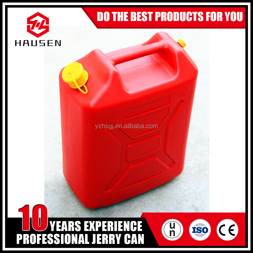 20 litre 5 gallon plastic pe portable oil fuel jerry can