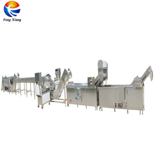 Industrial Automatic Potato Chips Fries Cutting Blanching Machines