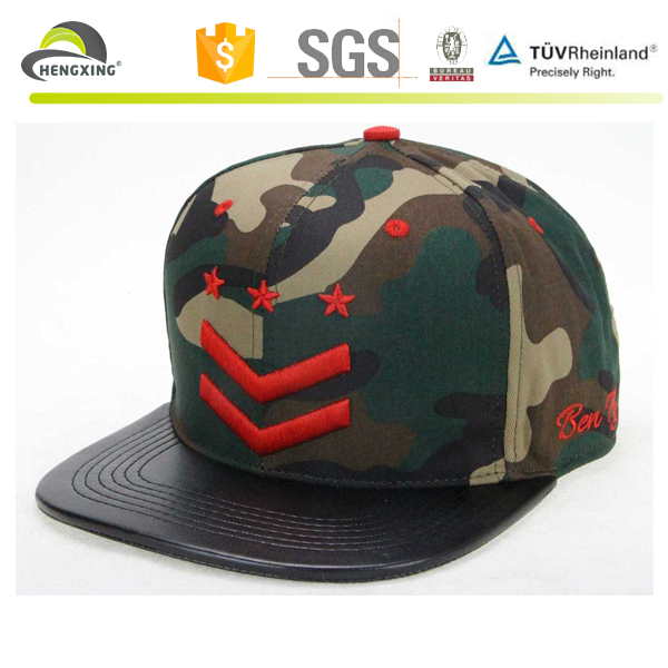 Custom Leather Patch Logo 6 Panel Snapback Hats, Custom 6 Panel Hats Wholesale, 6 Panel Snapback Hats Bulk