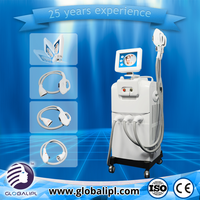 Medical CE approved OPT hair removal multiple beauty instrument