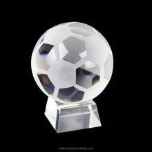 hight quality crysal crafts soprt trophies crystal glass ball