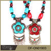 Ethnic necklace jewelry costume necklace jewelry necklace bohemia