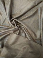 Tropical polyester bronzing suede for sofa /dress/fabric