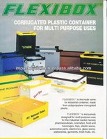 High Quality Polypropylene PP Plastic Corrugated Box