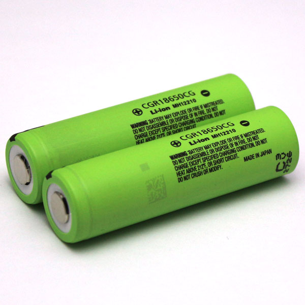 CGR 18650 CG 2200mah 3.6V 3.7V lithium ion battery for panasonic 18650 2200mah