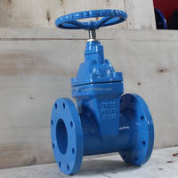 water pipeline russia stem gate valve pn16 manufacturer