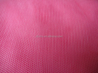 Plain colored soft polyester net fabric in best quality but cheap price