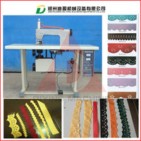 220V ,50-60hz Lace making machine for sale/Ultrasonic lace machine with round horn