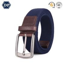 DP8201A-3 New Fashion Colored designer Stripe Belt Polyester Webbing military Canvas Belts