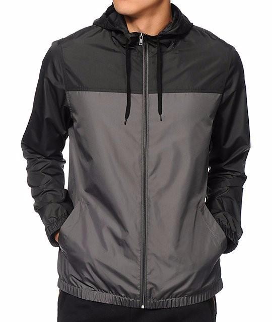 men nylon windbreaker jacket,customized windbreaker jackets,blank ...