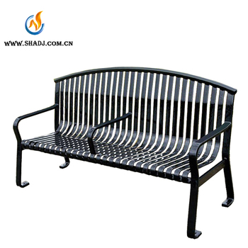 2017 Pipe Made Stainless Steel Durable Stainless Steel Customized Bench Seat