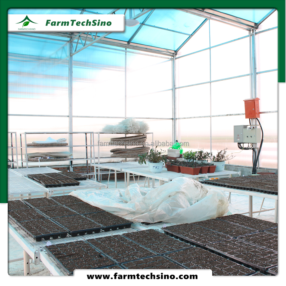 Polycarbonate sheet cheap garden greenhouse for agriculture