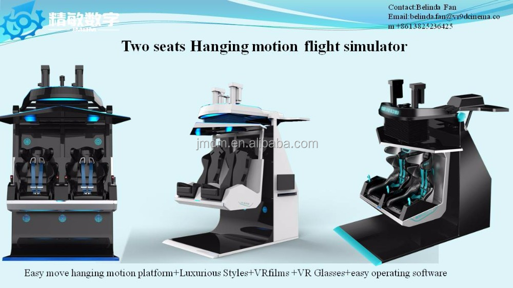 9D virtual reality flying cinema 6dof motion platform VR flight simulator for sale