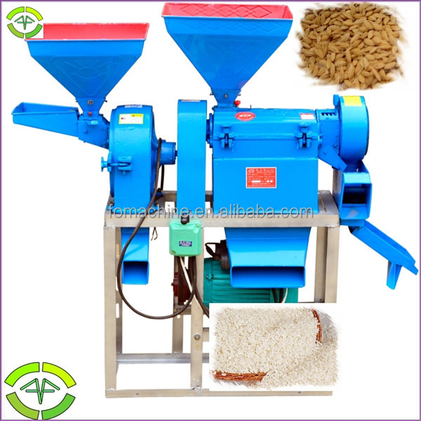 Multi-functional rice milling equipment