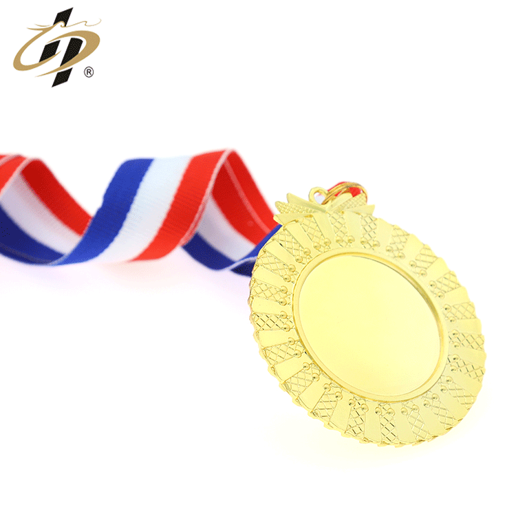 Promotional factory cheap custom 3d gold sliver sports fine blank medal