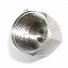 aluminium precision turned parts medical adjustable base round cover