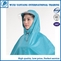 PVC Polyester Rain Gear Hood With