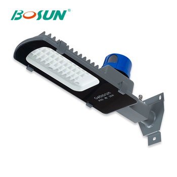 GEBOSUN Wholesale price die cast aluminium customized photocell IP65 35w led street light