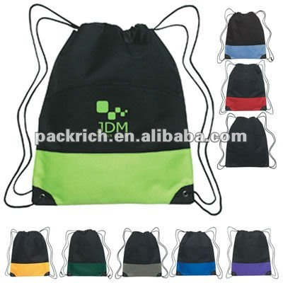 Promotional nylon gym sack