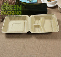 Biodegradable wheat straw togo boxes/ wheat straw lunch boxes/wheat straw disposable container