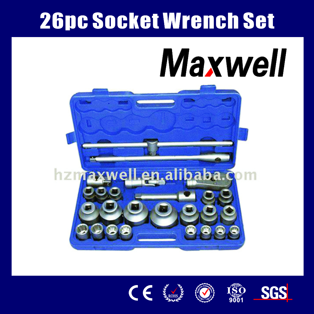 26pc Socket Wrench Set
