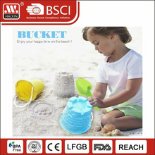 Online shopping 2.7L plastic beach playing sand bucket with shovel for children