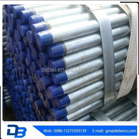 pre-galvanized electric galvanized round steel pipes tubes for construction