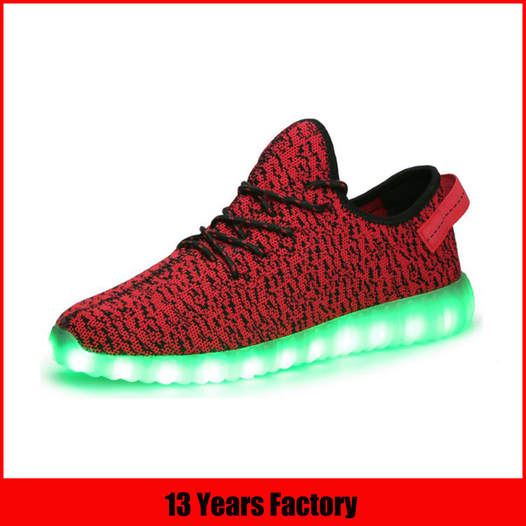 flashing led light up shoes for women and men