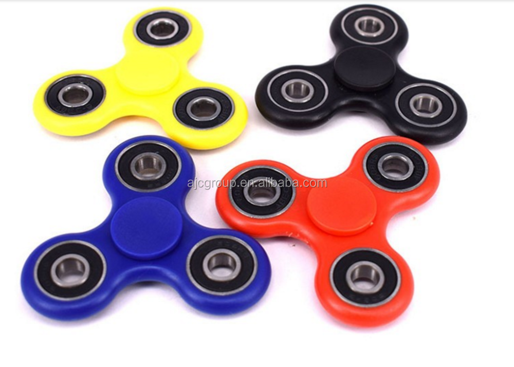 2017 new arrival Plastic EDC Hand Spinner For Autism/ADHD Anxiety Stress Relief Focus Toys