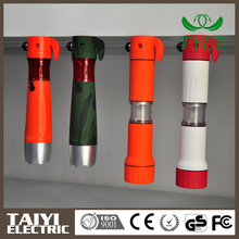 Good quality Short charge time dynamo self flashlight