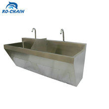 RC762 Stainless Steel Medical Scrub Sink