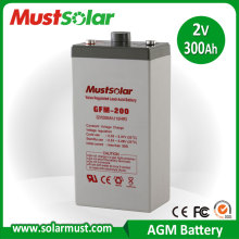 AGM Lead Acid Battery 2V2000AH for Solar Battery, VRLA Battery , Rechargeable Battery