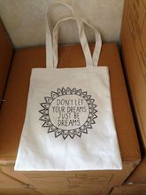 8 years manufacter of environmental cotton shopper bag with gusset