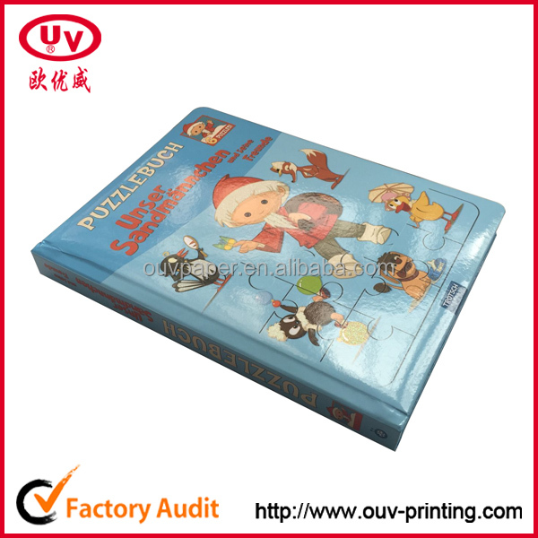 Top quality children book printng , Children S Puzzle Book