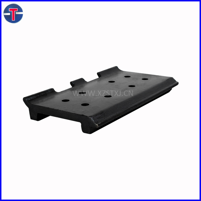 quality 1200 hours warranty rubber track pad for bitumen transportation trucks