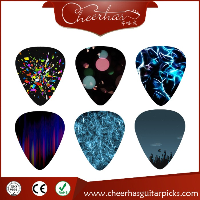 Custom Personalized Your Own Design Logo or Sign Name on Celluloid Picks