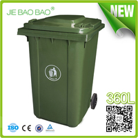 JIE BAOBAO! OUTSIDE UNIQUE MOBIL 95 GALLON GARBAGE STORAGE CONTAINER
