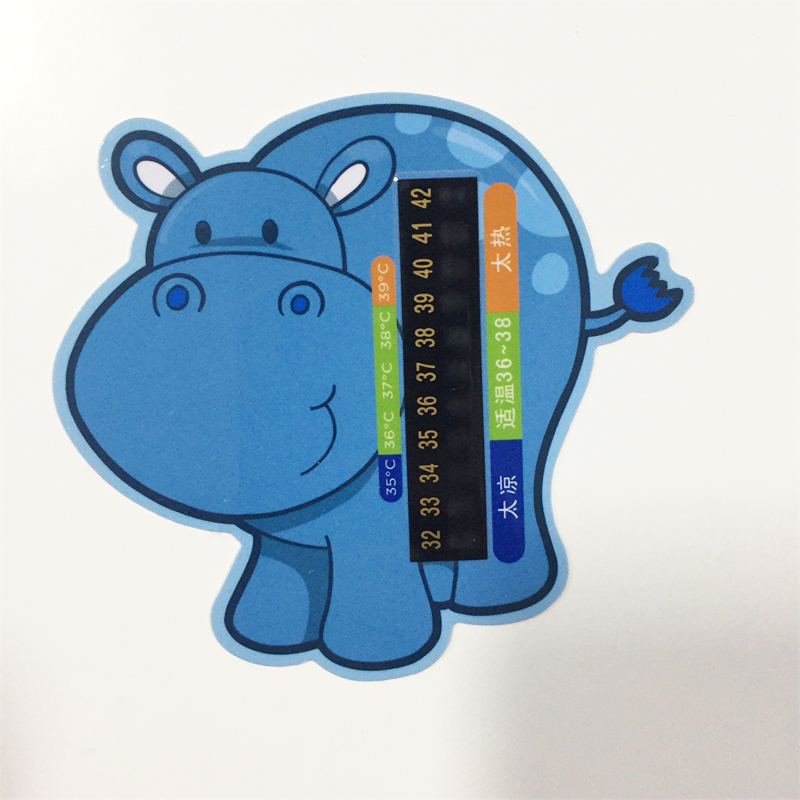 PVC Repeatable Home Kids Digital Animal Shower Thermometer Baby