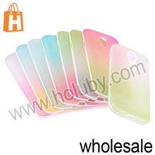 Delicate Gradient Matte Soft TPU Back Case for Samsung Galaxy S4 i9500 i9505 i9508