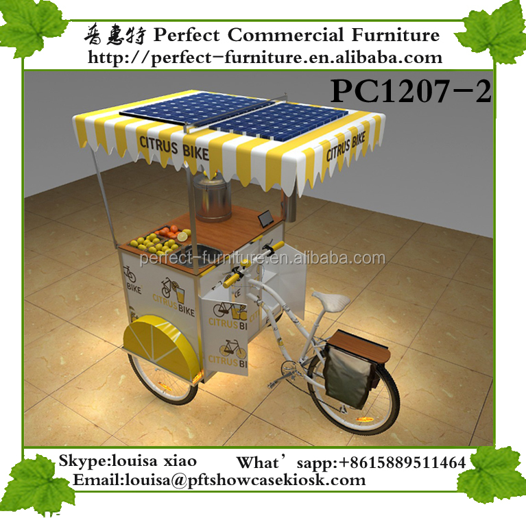 mobile ice cream cart ice cargo cream bicycle used food vending carts for sale