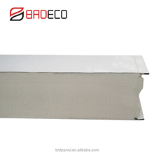 Insulated Metal Roof Aluminium Composite Panel roof Sandwich Panel For Cold Room