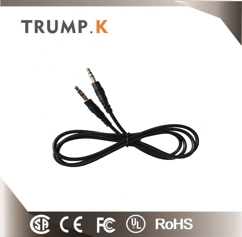 2017 china factory aux cable 3.5mm audio cable