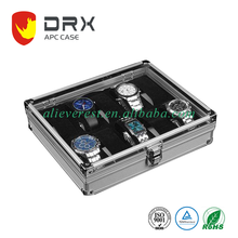 Watch Case Organizer Large Holder with Metal Lock