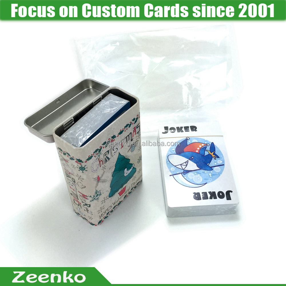 C015 Brand new custom printed card game set custom card game printing playing card mat
