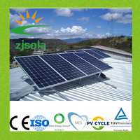 ZJSOLA 1500 watt on-grid solar power system, the new clean energy 1.5KW solar system