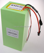 China Suppliers Intrinsically safe Lithium ion Battery 48V25ah For Evo/Uber