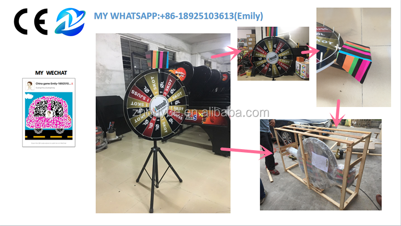 Desktop lucky draw game machine prize wheel of fortune - 18925103613(my whatsapp)