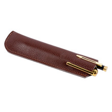 2017 promotional fountain leather pen case carry bag