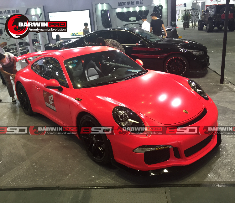 2013-UP Carrera 911 991 Convert To GT3 style Bumpers Auto parts Body Kit