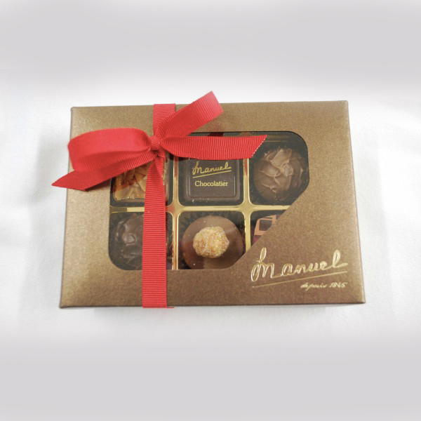 The best chocolates brand - MANUEL - Swiss handmade chocolate - LAGUNA